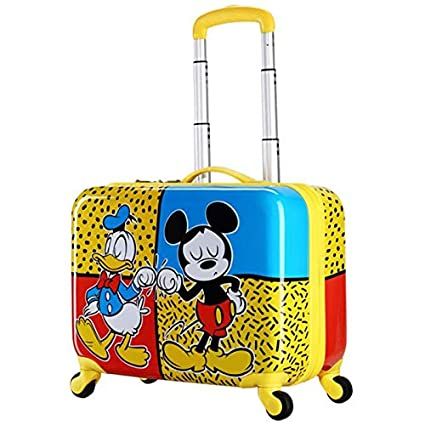 ce14807a54fb Amazon.com: Ly-lgx Children's Trolley case Male Suitcase Universal ...