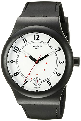 Swatch Unisex SUTB402 Originals Analog Display Swiss Automatic Black Watch