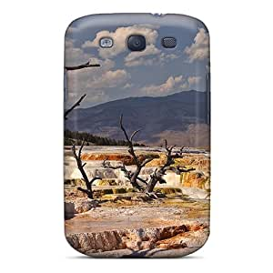 SandraTrinidad NSNUlOa25653BknTT Case Cover Skin For Galaxy S3 (mammoth Hot Springs)