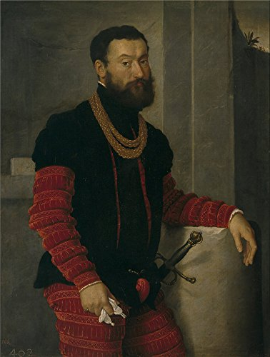 Oil Painting 'Moroni Giovanni Battista Un Militar Ca. 1560', 10 x 13 inch / 25 x 34 cm , on High Definition HD canvas prints is for Gifts And Dining - Finder Store Myer