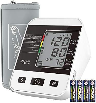 Tensiómetro de Brazo Digital, Annsky Monitor Eléctrico de Presión ...