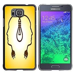 Dragon Case - FOR Samsung ALPHA G850 - If winter comes - Caja protectora de pl??stico duro de la cubierta Dise?¡Ào Slim Fit