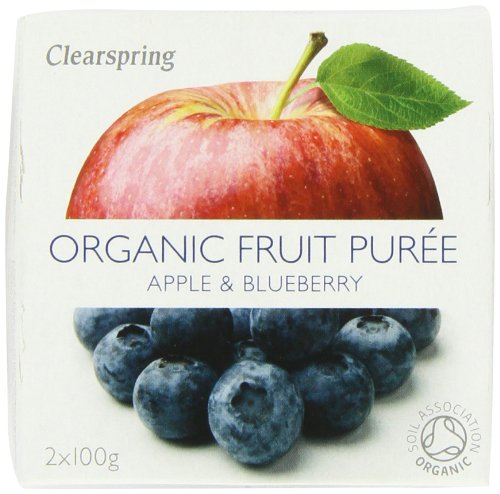 Clearspring Organic Apple and Blueberry Fruit Puree 2x100 g (Pack of 12) by Clearspring (Image #5)