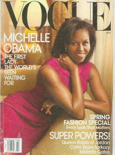 Vogue Magazine (March, 2009) - Michelle - Obama Michelle Style