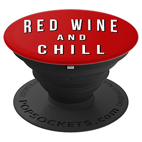 Merlot Cab - Red Wine And Chill Funny Quote Sayings Pinot Noir Fan Lovers - PopSockets Grip and Stand for Phones and Tablets