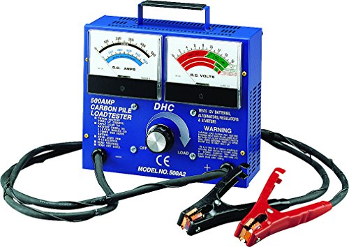 500 Amp Carbon Pile 12V Battery Load Tester (Clore Battery Tester)