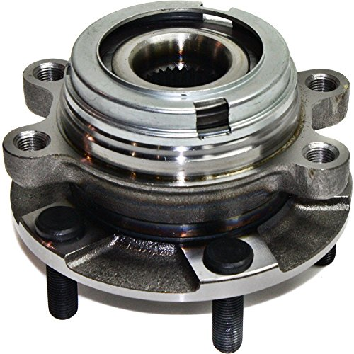 Evan-Fischer EVA16540613366 Wheel Hub Front Driver or Passenger Side Includes ABS encoder and lug bolts Bolt Pattern 5 x 4.5 in.