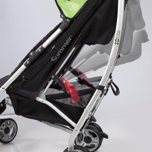 Summer Infant 3D Lite Stroller, Black/Lime