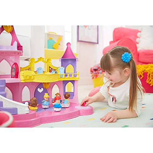Fisher-Price Little People Disney Princess Musical Dancing Palace ()