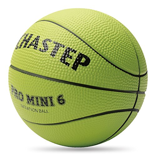Mini Basketball, Chastep, 6 Inch Foam Ball. Soft and Bouncy, Non-Toxic, Safe to Play, Lemon Green