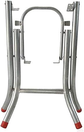 HXBH Patas plegables para muebles -Marco simple de acero tipo x mesa cuadrada patas de mesa