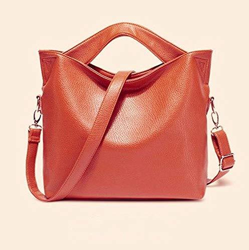 Retro Bag Leather Messenger Shoulder PU Bag Hongge Female Lady Fashion Handbag Leather Single D Bag wCIt1xq