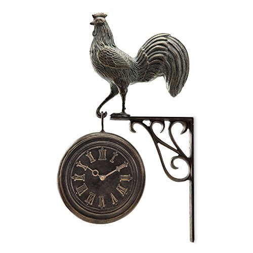 (Rooster Clock and Thermometer)