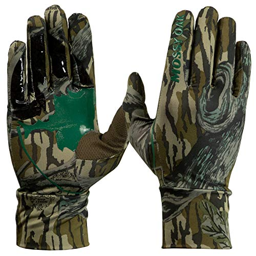 Mossy Oak Camo Tech Hunt Glove, Original Treestand, One Size