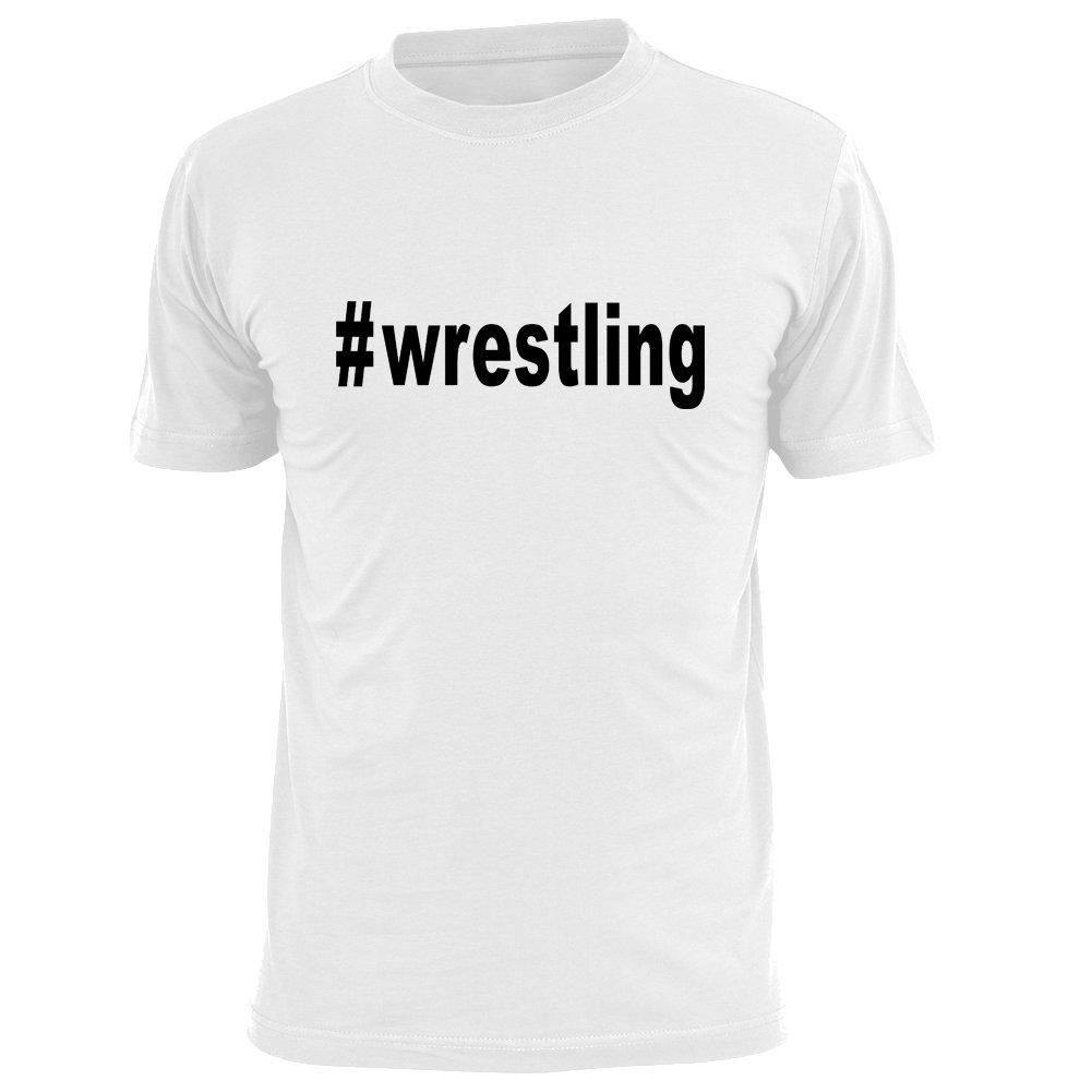 OKnown Wrestling Print Funny T Shirts for Men