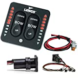 LED Indicator Switch w/ Pigtail, Single