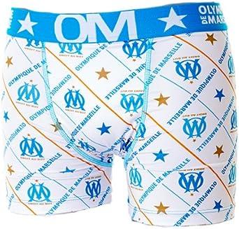 OLYMPIQUE DE MARSEILLE Boxer Om Collection Officielle Taille Homme