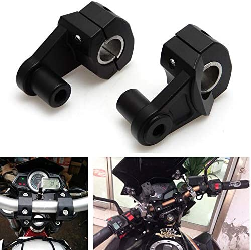 7 8 Und 1 13 Motorrad Lenkerhalterung 22mm Und 28mm Universal Lenkerbefestigung Lenkererhöhung Lenker Riser Lenkerhalter Aluminum Auto