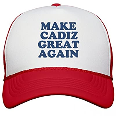 Make Cadiz Great Again Hat: Snapback Mesh Trucker Hat