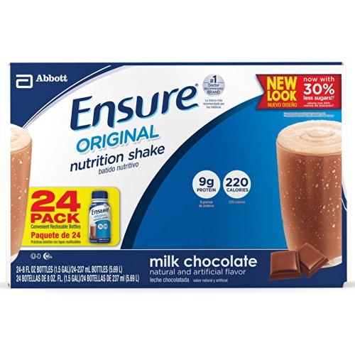 (Ensure Nutrition Drink Chocolate Bottles 24 X 8oz Case)