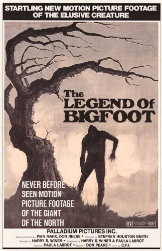 Legend of Bigfoot 11 x 17 Movie Poster - Style A