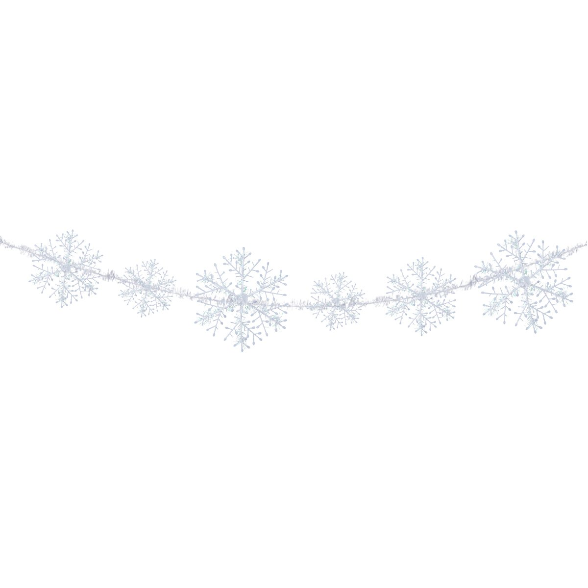 Tinksky Snowflake Banners For Christmas Wedding Decorative Garlands Christmas Tree Ornaments Pendants Decoration