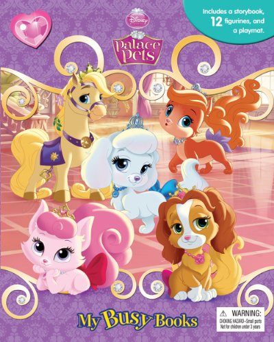 Disney Palace Pets My Busy Book Import It All
