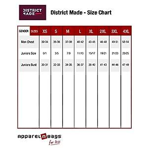 District Made Women's Perfect Tri Racerback Tank DM138L Purple Frost XL