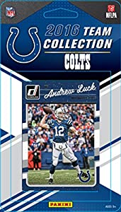 Indianapolis Colts 2016 Donruss Factory Sealed Team Set with Peyton Manning, Andrew Luck, Frank Gore, Hilton plus