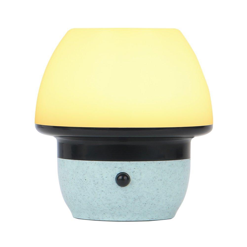 Night Light for kids-rechargeableベビーベッドサイドモーションセンサーポータブルランプRGB 7 colors-changing &タッチコントロール調光機能付きホワイトライトfor授乳Readingキャンプ Mushroom B07CGM24LN 19977   Mushroom