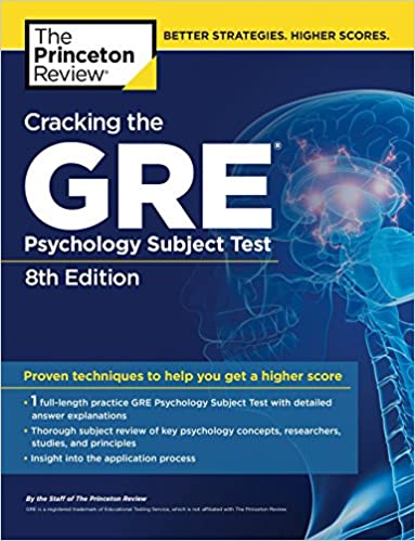 Cracking The Gre Psychology Subject Test 8th Edition Princeton