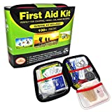 Elite Provisions First Aid Kit (131 Pieces) for Camping, Hiking, Backpacking, Outdoor Accessories; Emergencies & Survival Gear. Compact & Lightweight for Car, RV, Travel, Sports, Boat, Cycling, Kayak.