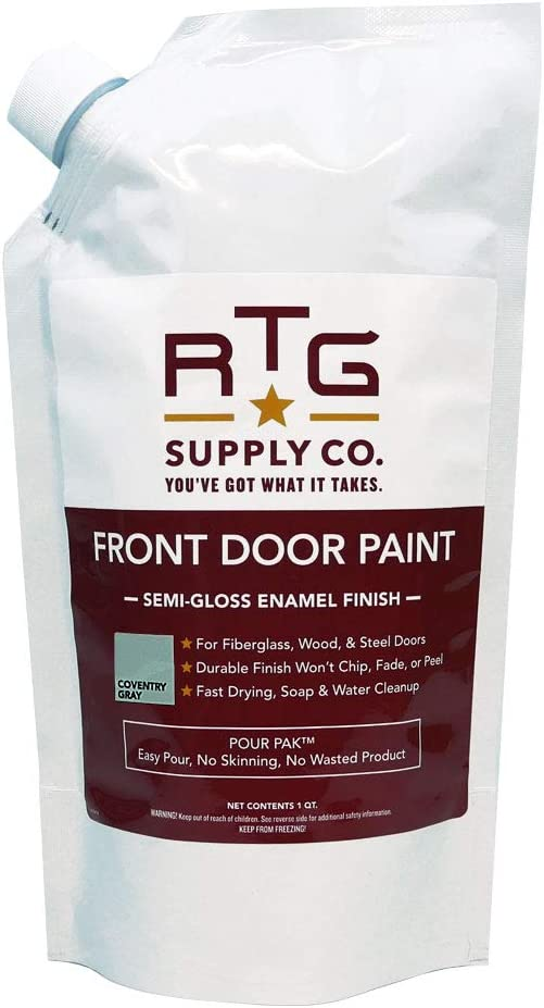 RTG Front Door Paint (Quart, Coventry Gray)