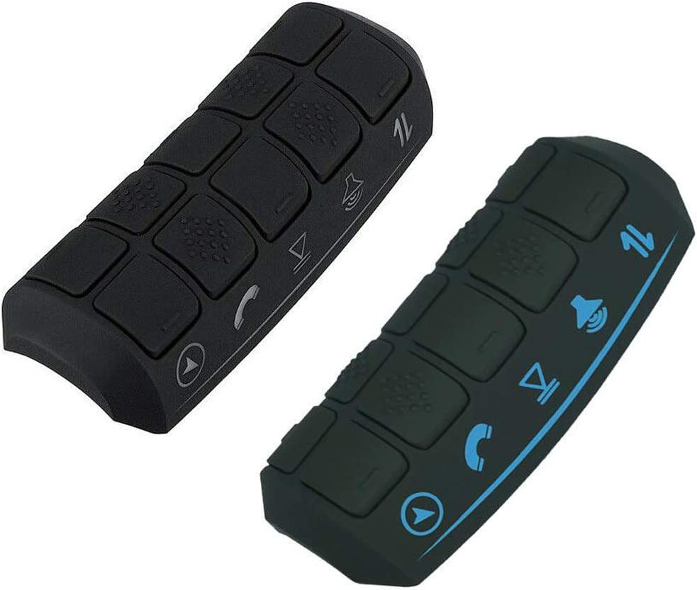 YOUNGFLY Car Steering Wheel Remote Control Android Wireless Led Universal 10 Buttons