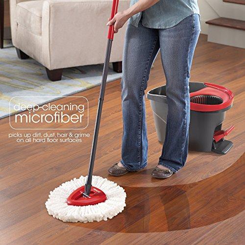 o cedar easy wring spin mop refill new ebay. Black Bedroom Furniture Sets. Home Design Ideas