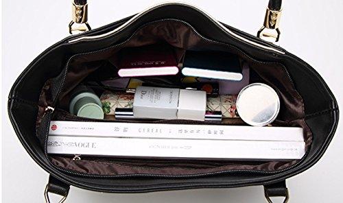 Shopping Mode Bandoulière Dos Sac Main À Hit Capacité Rétro Red Grande Lady qTIfYwa