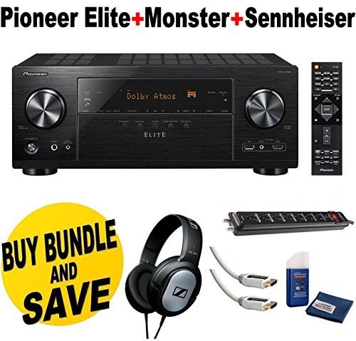 Pioneer VSX LX301 Networked Sennheiser Headphones product image