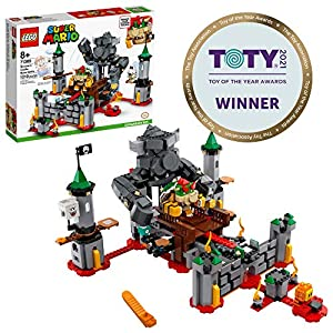 LEGO Super Mario Bowser's Castle Boss Battle Expansion Set 71369 Building Kit; Collectible Toy for Kids to Customize…