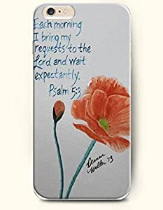 Case Cover For SamSung Galaxy S4 Mini Hard Case **NEW** Case with the Design of Each morning I bring my requests to the Lord and wait expectantly. Psalm 5:3 - Case for iPhone Case Cover For SamSung Galaxy S4 Mini (2014) Verizon, AT&T Sprint, T-mobile