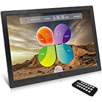 XYmart Digital Picture High Resolution Frame 15.4 Inch 1280 x 800 High Resolution Unique UI Surface Original HD Screen Multifunctional Digital Photo Frame
