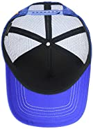 The Mountain Patriotic Kitten Adult Trucker Hat, Blue, Adjustable Sizing