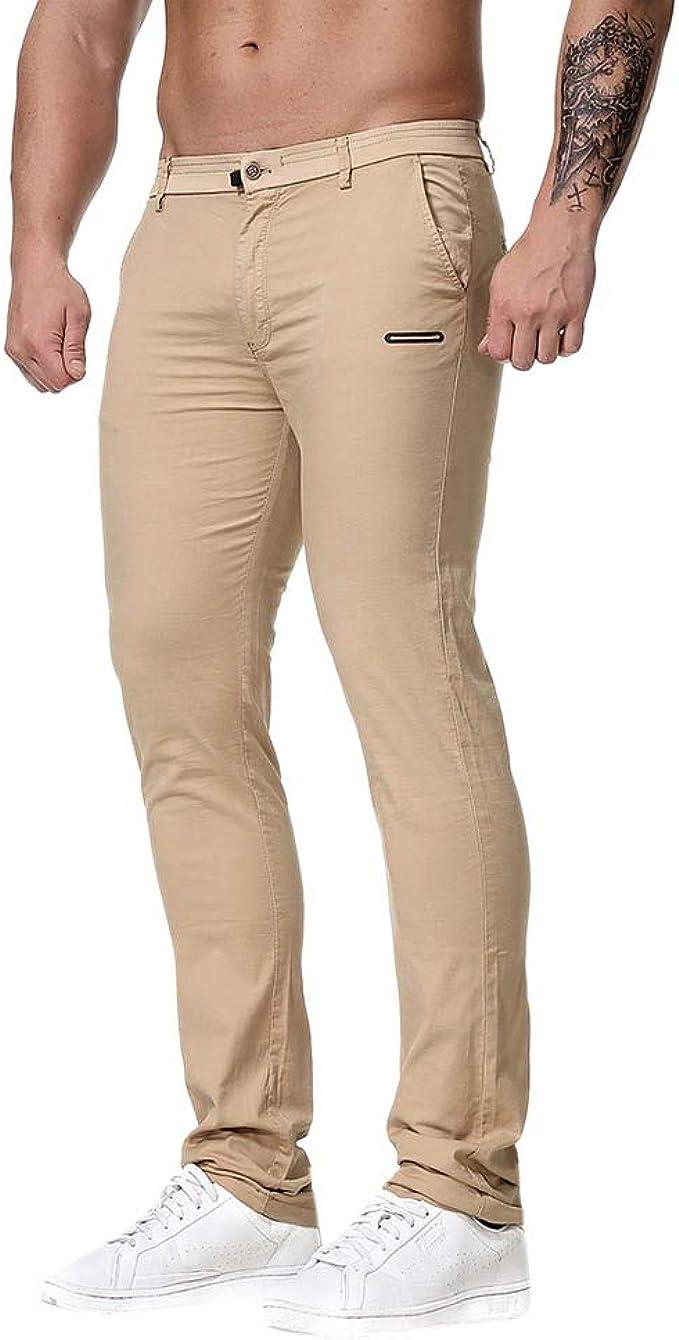 Heetey - Pantalones de chándal para Hombre, Corte Normal ...