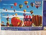 Liftoff at Albuquerque Balloon Festival, New Mexico, 500 piece puzzle