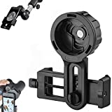 Universal Cell Phone Quick Photography Adapter Mount Compatible for Tecescope Binoculars Monocular Spotting Scope Microscope,Fit Almost All Cell Mobile Phone