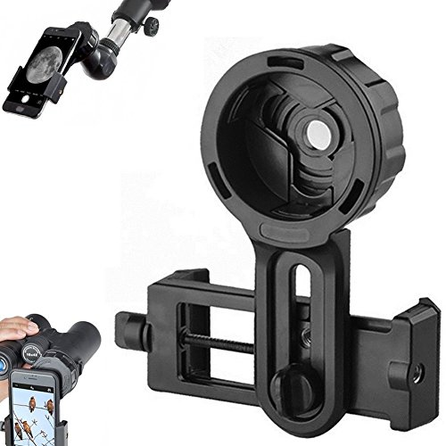Universal Cell Phone Quick Photography Adapter Mount Compatible for Tecescope Binoculars Monocular Spotting Scope Microscope,Fit Almost All Cell Mobile Phone from Gearmart