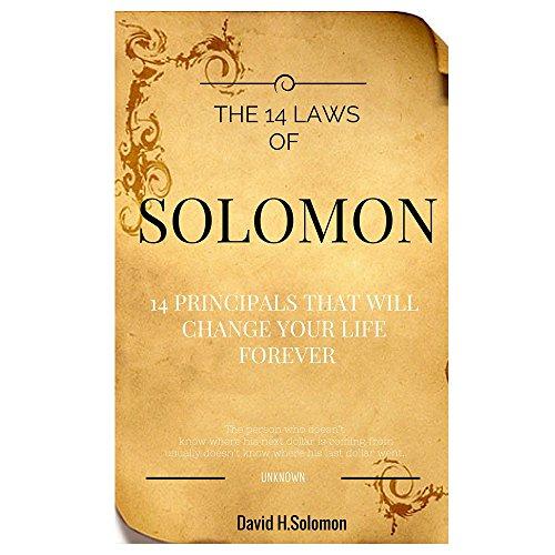 PROGRESSJUNKIES: The 14 Laws of Solomon