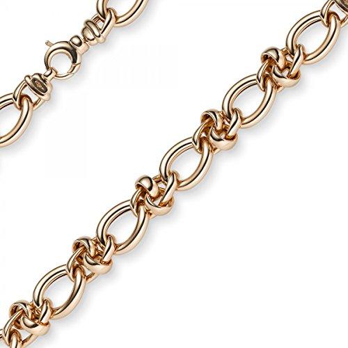 11,5mm Imagination Chaîne Collier avec noeud bijou collier en or rose 58545cm