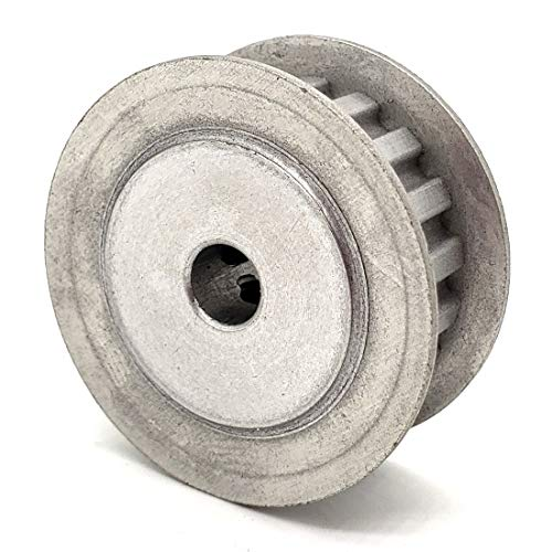 Phoenix Mfg. Timing Pulley, 14 Tooth Count, XL Profile, Aluminum