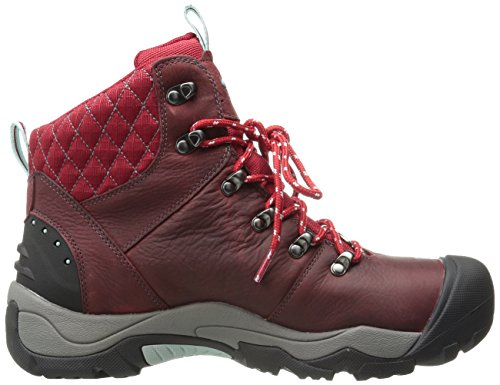 Keen Women's Revel III Cold Weather Hiking Boot Red (Racing Red/Eggshell 0) tDQzod