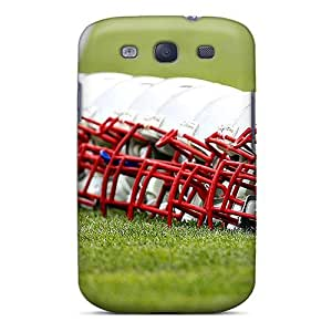 Anti-scratch And Shatterproof New England Patriots Phone Case For Galaxy S3/ High Quality Tpu Case by Maris's Diary